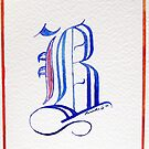 09-08-10 Calligraphy B : First Trial by BuaS