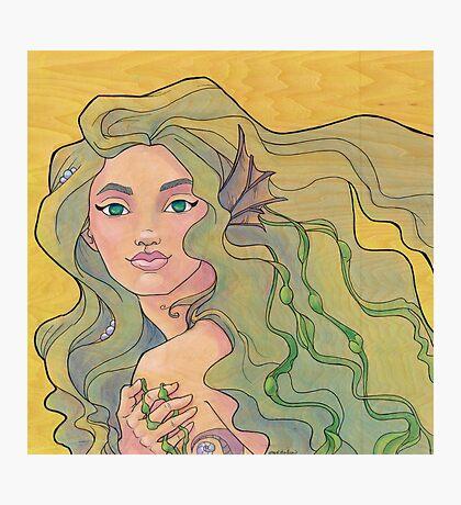 Tattooed Mermaid 12 Photographic Print