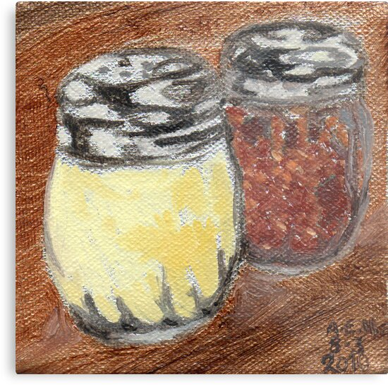 Cheese And Peppers by Amy-Elyse Neer