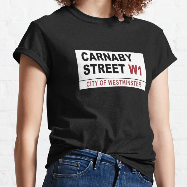 Carnaby Street Sign Classic T-Shirt