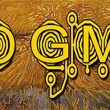 No GMO Crop Circle on a Van Gogh by EyeMagined