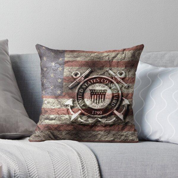 United States Coast Guard Throw Pillow