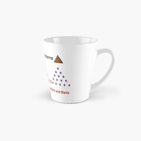 Math, Printing Different Pyramid Patterns Tall Mug