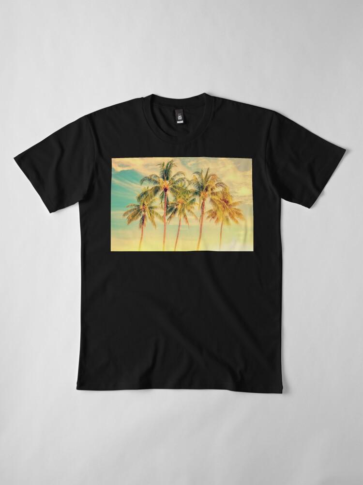 Alternative Ansicht von Tropisch Premium T-Shirt