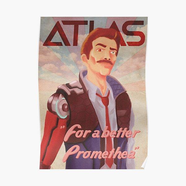 Siege Moustache Poster