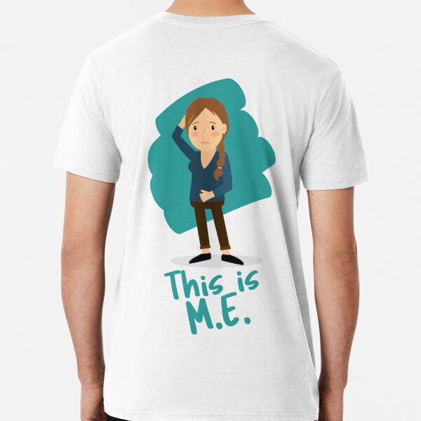 ME/CFS: This Is M.E. (Brain Fog) Premium T-Shirt