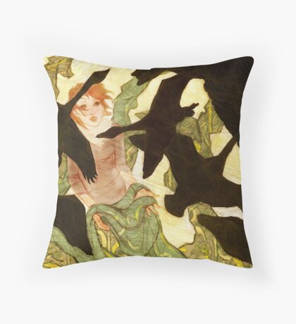 Seven Brothers Throw Pillow