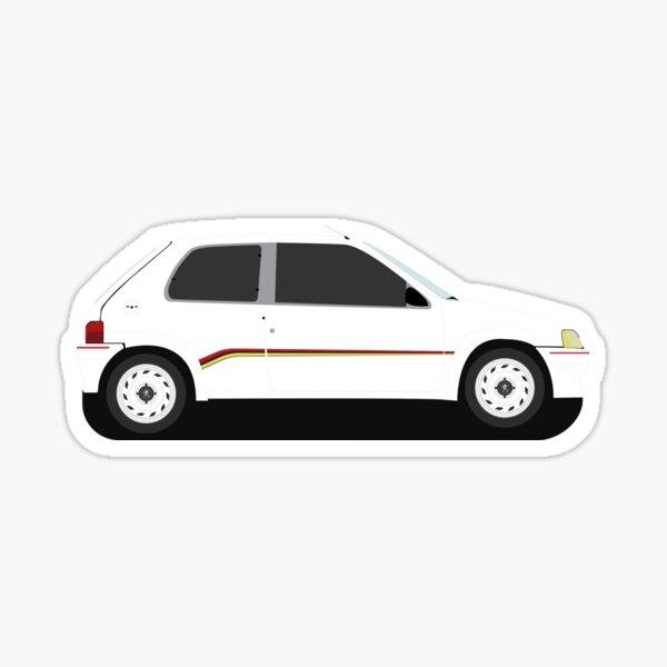 Illustration Peugeot 106 Rallye Sticker