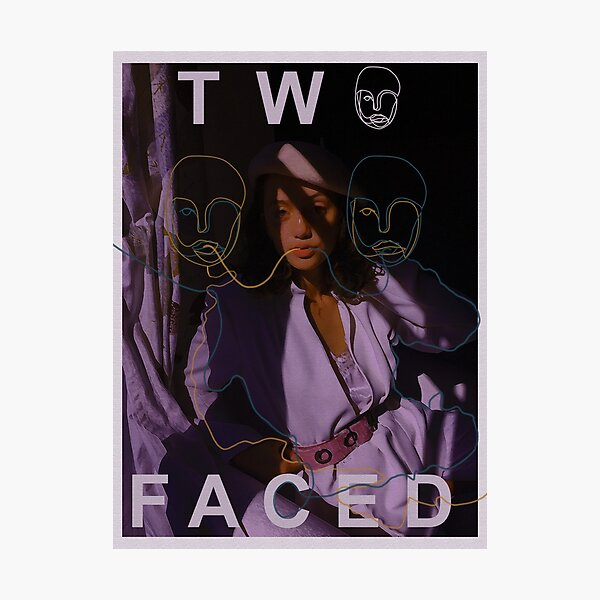 Two Faced Photographic Print