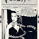 Vampira: Faux Comic Page by HereticTees