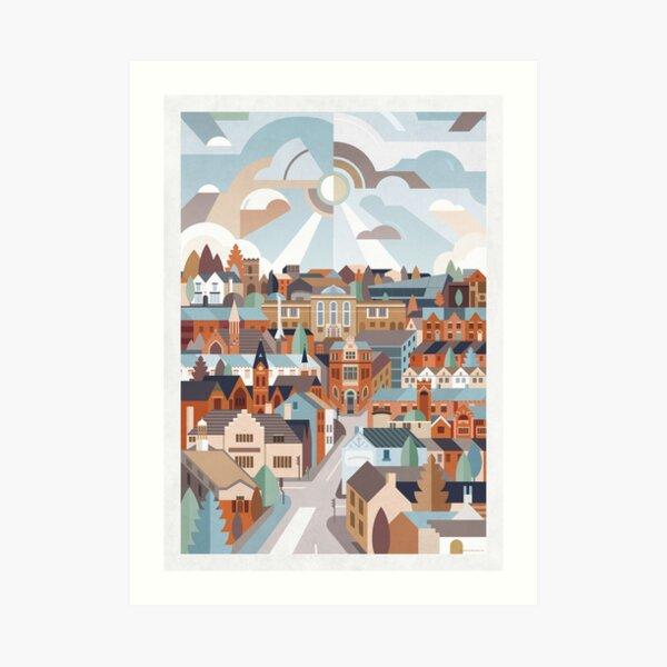 Harborne Art Print