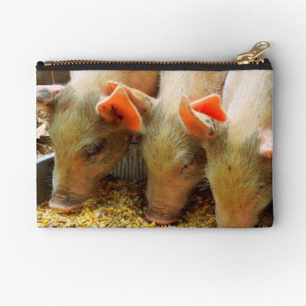Three Little Pigs Zipper Pouch