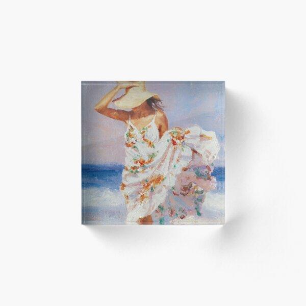 Summer Breeze Acrylic Block
