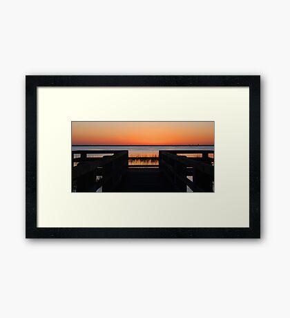 Last Sunlight Framed Print