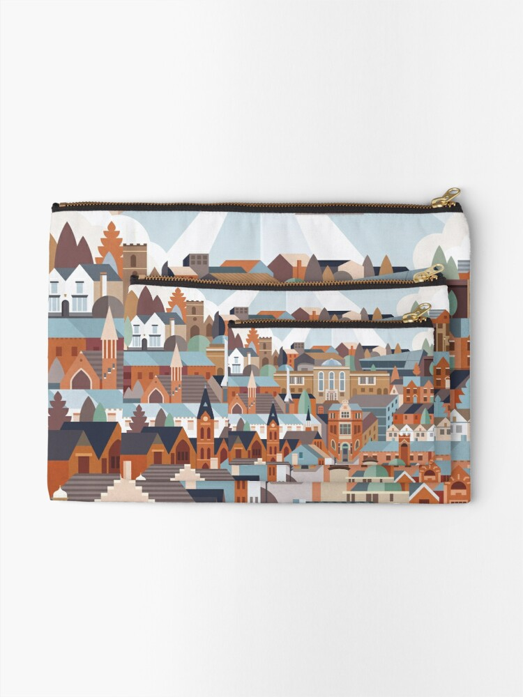 Alternate view of Harborne Zipper Pouch