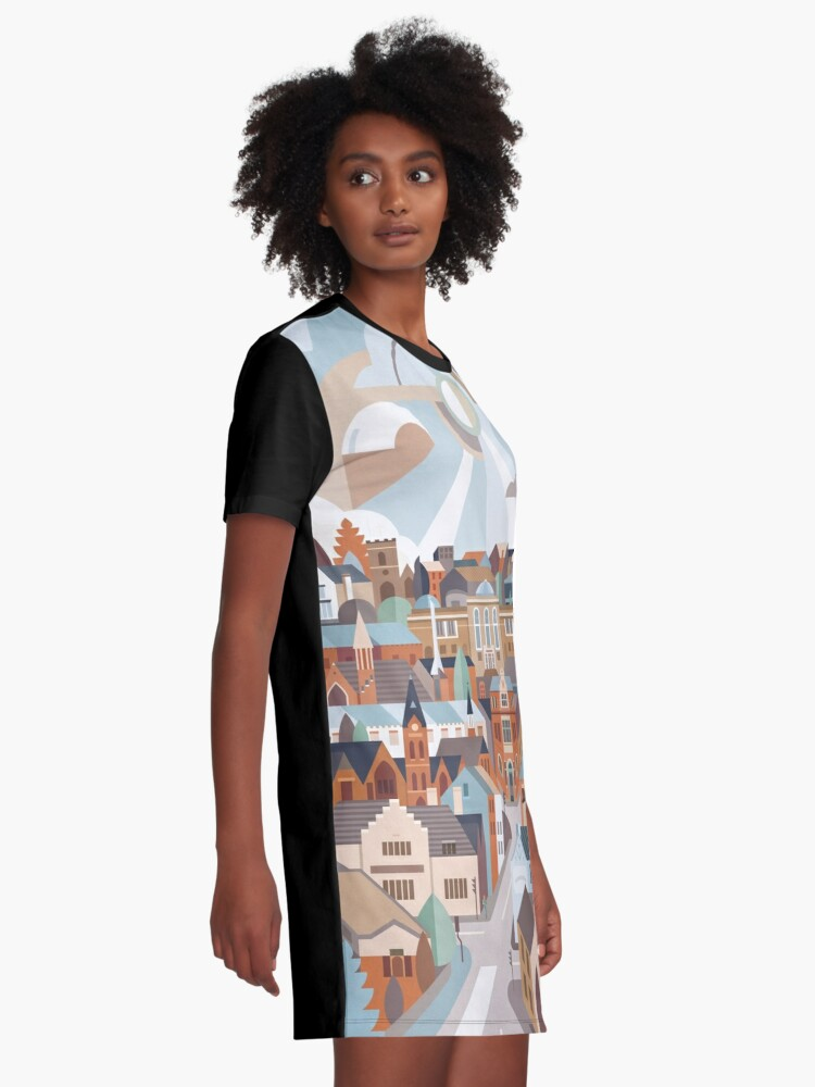 Alternate view of Harborne Graphic T-Shirt Dress