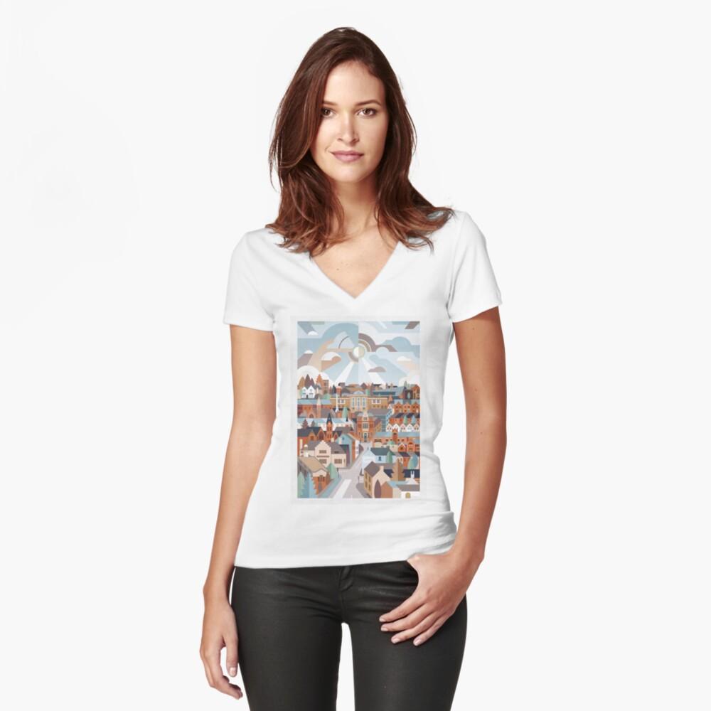 Harborne Fitted V-Neck T-Shirt