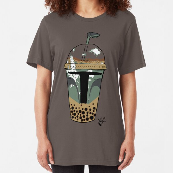 Boba Tea Slim Fit T-Shirt