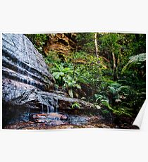 Katoomba Falls - Blue Mountains Poster