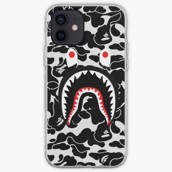 armée de requins noirs Coque souple iPhone
