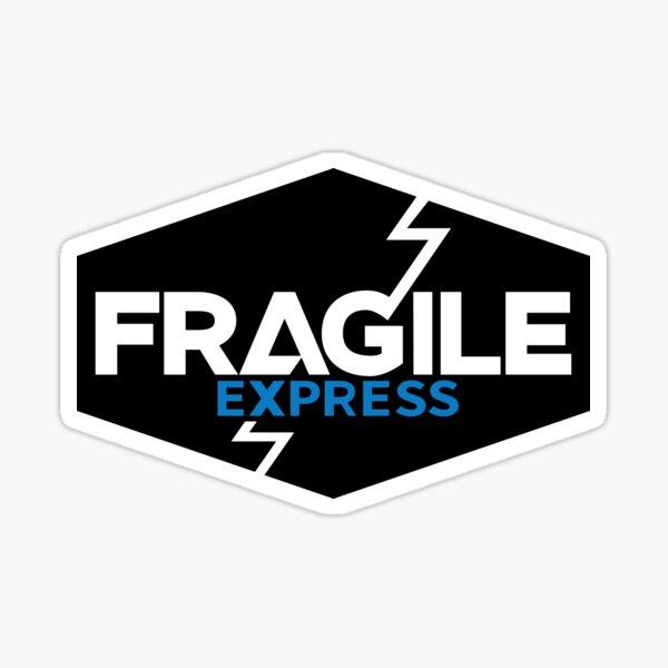 Échec de la mort Fragile Express Sticker