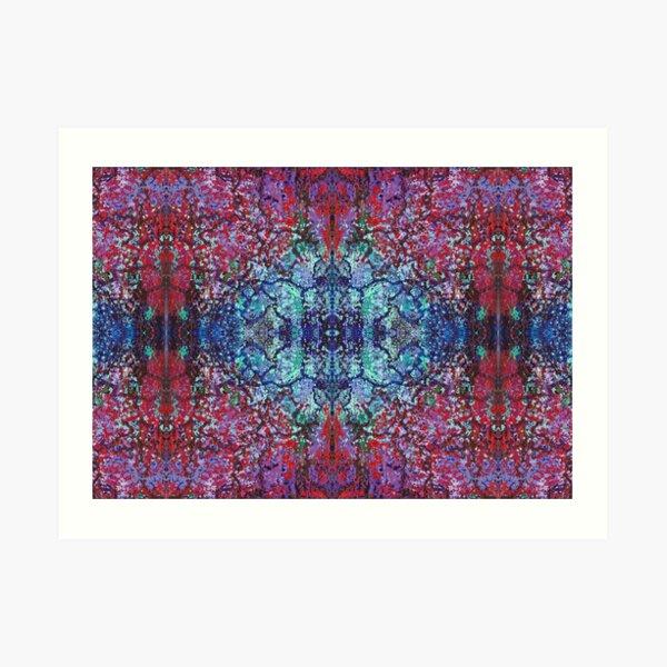 Bohemian Blossom Burst Art Print