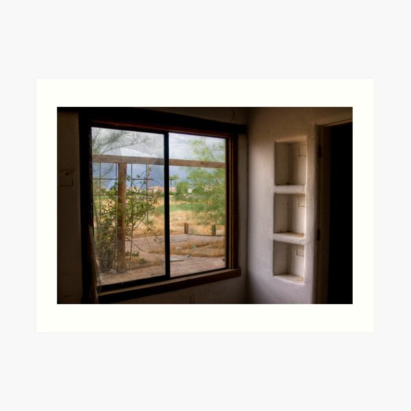 The Picture Window Art Print