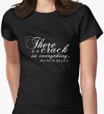 Leonard schwarz Tailliertes T-Shirt für Frauen