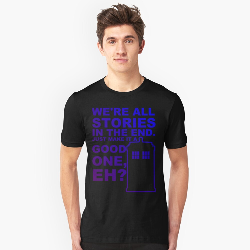 We're All Stories  Unisex T-Shirt Front