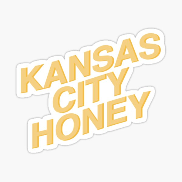 Kansas City Honey Gold Sticker