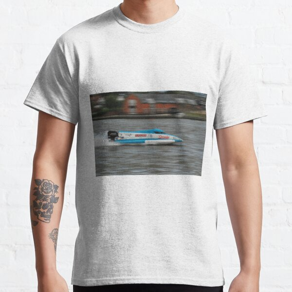 Powerboat Racing at Oulton Broad - Formula Grand Prix - Scott Curtis Classic T-Shirt