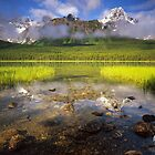 Mistaya Lake by Alex Burke