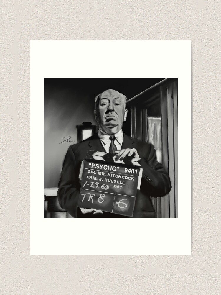 ART POSTER PRINT ALFRED HITCHCOCK PSYCHO MOVIE SHOWER NORMAN BATES MOTEL