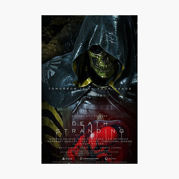 Tomorrow Is In Your Hand   Higgs - Death Stranding  Photographic Print