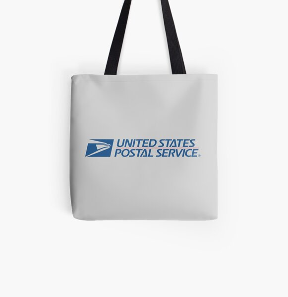U S Mail Old Logo Tote Bag By Jmirvish Redbubble