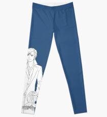 Blue is for Sherlock Holmes Leggings