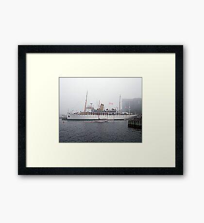 C.S.S.Acadia Framed Print