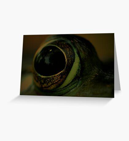 Eye Greeting Card