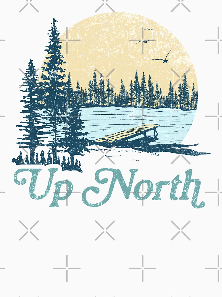 Vintage Up North Lake by GreatLakesLocal