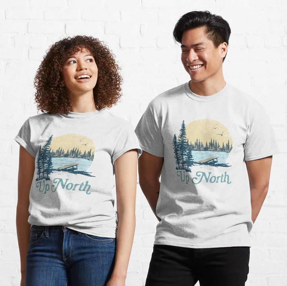 Vintage Up North Lake Classic T-Shirt