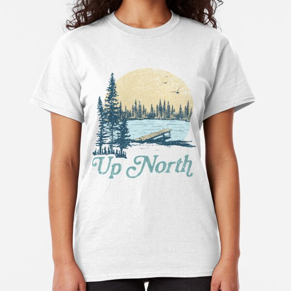 Vintage Up North Lake Classic T-Shirt
