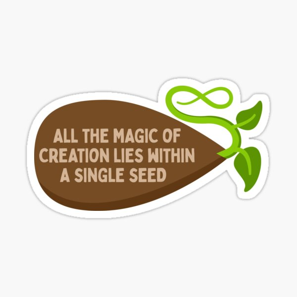 Seed of Creation Sticker