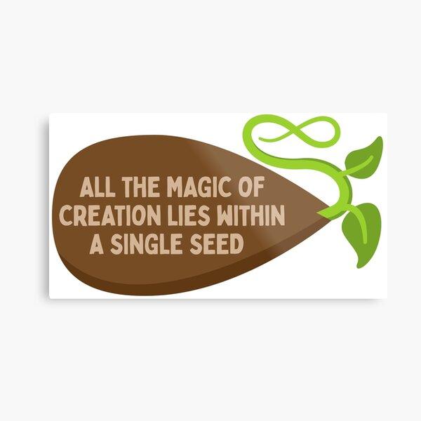 Seed of Creation Metal Print