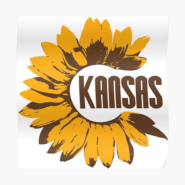 Kansas Sunflower Poster