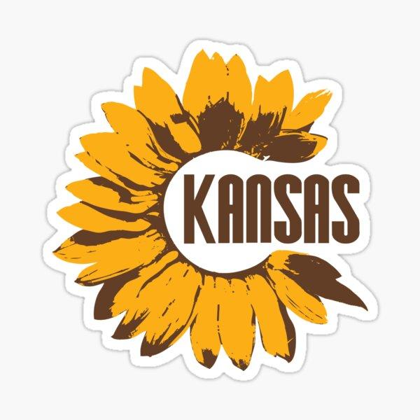 Kansas Sunflower Sticker