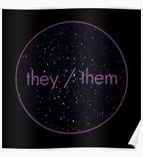 Space Pronouns: They/Them Poster