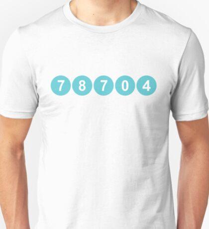 78704 Austin Zip Code T-Shirt