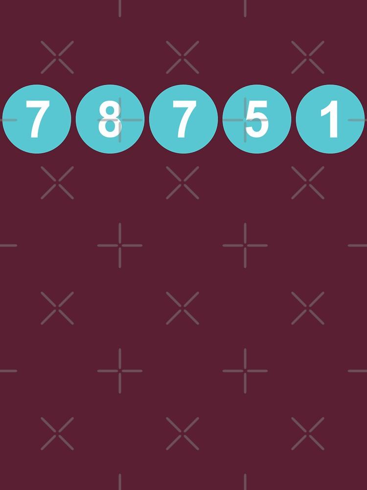 78751 Austin Zip Code by willpate
