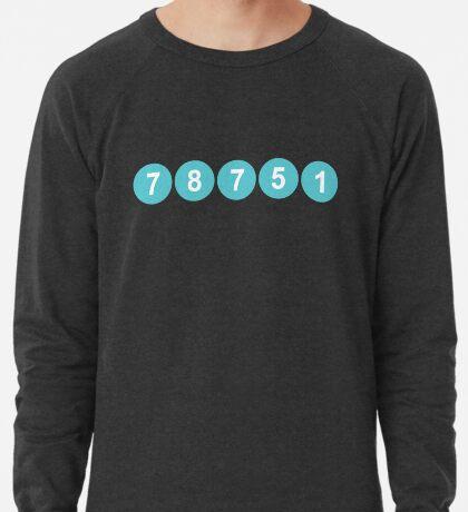 78751 Austin Zip Code Lightweight Sweatshirt