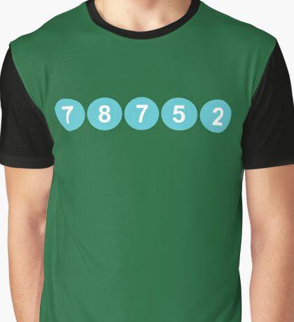 78752 Austin Zip Code Graphic T-Shirt